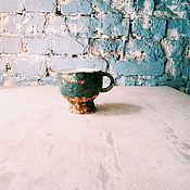 """Посуда ручной работы. Ярмарка Мастеров - ручная работа кружка """"вечер на берегу"""". Handmade."""