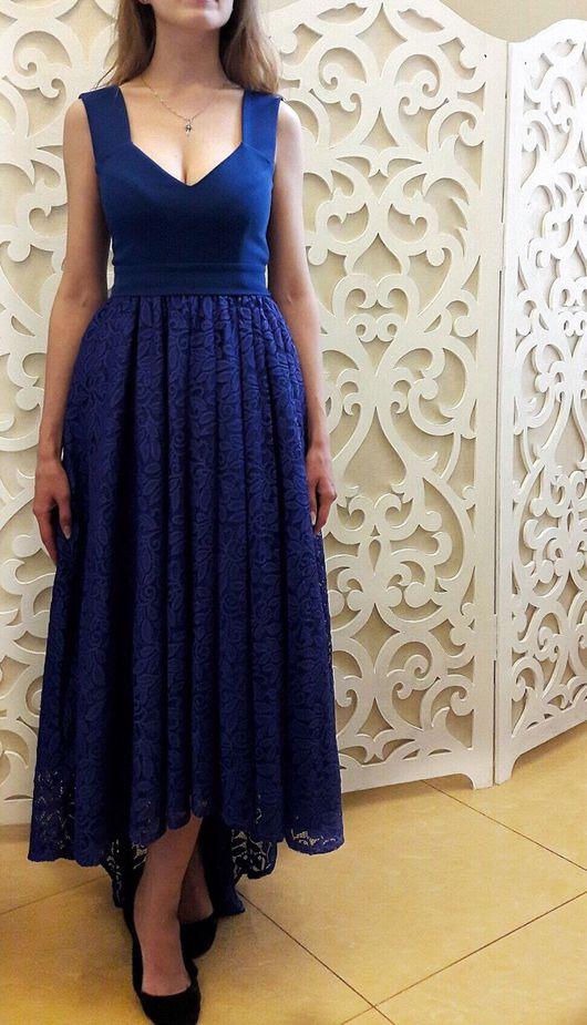 """Платья ручной работы. Ярмарка Мастеров - ручная работа. Купить Платье """"Изабелла"""". Handmade. Вечернее платье, асимметричное платье"""