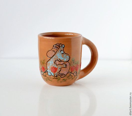 Кружки и чашки ручной работы. Ярмарка Мастеров - ручная работа. Купить Керамическая Кружка Муми-тролли кружка с рисунком на заказ. Handmade.