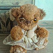 """Куклы и игрушки ручной работы. Ярмарка Мастеров - ручная работа Тедди мишка """" Агриппина Саввишна"""". Handmade."""