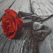 """Картины и панно ручной работы. Ярмарка Мастеров - ручная работа Ручная вышивка """"Романс"""". Handmade."""