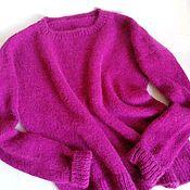 Одежда handmade. Livemaster - original item Jumper, rich fuchsia color.. Handmade.