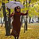 """Платья ручной работы. платье """"Осень"""". Алена (indeeza). Ярмарка Мастеров. Платье из шерсти"""