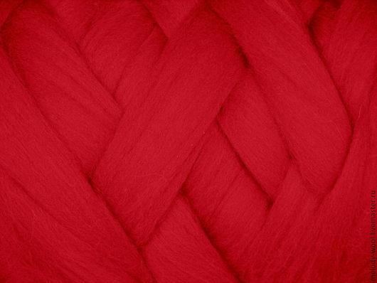 Валяние ручной работы. Ярмарка Мастеров - ручная работа. Купить Шерсть для валяния меринос 18 микрон цвет Страсть (Passion). Handmade.