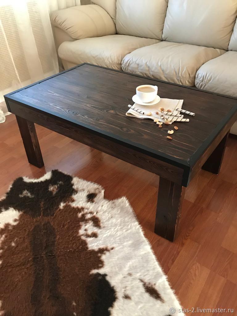 Журнальный столик. Деревянный столик  Столик из дерева Кофейный столик, Столы, Ульяновск,  Фото №1