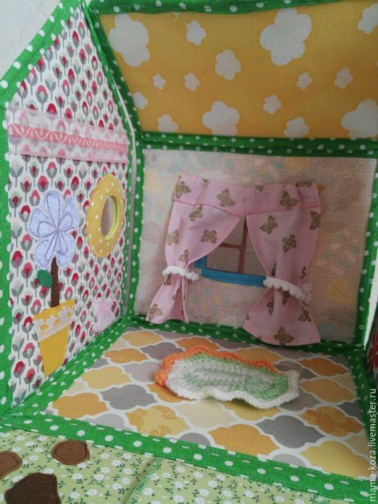Кукольный дом ручной работы. Ярмарка Мастеров - ручная работа. Купить Текстильный кукольный домик. Handmade. Комбинированный, развитие воображения