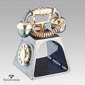 Сувениры и подарки handmade. Livemaster - original item Phone ring (silver, gold, pearl, diamonds). Handmade.