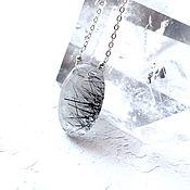 Украшения handmade. Livemaster - original item Pendant natural rutile quartz from India. Handmade.