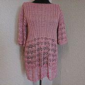 Одежда ручной работы. Ярмарка Мастеров - ручная работа вязаное платье туника. Handmade.