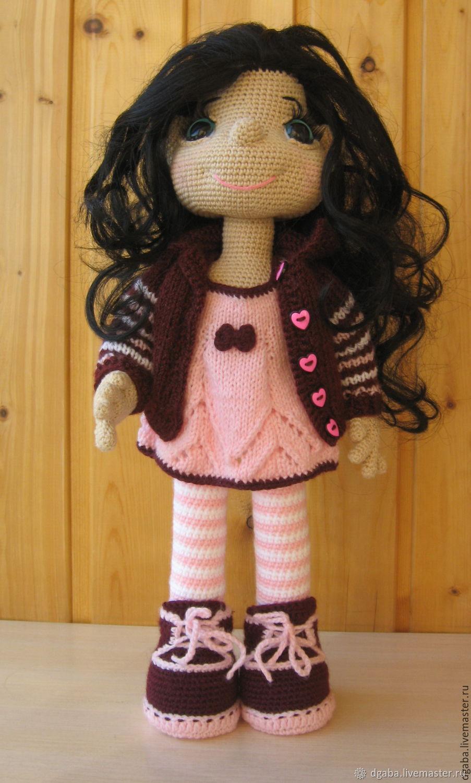 мастер класс кукла галочка вязание крючком и спицами купить в