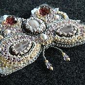 Украшения handmade. Livemaster - original item Butterfly brooch Sevara. Handmade.