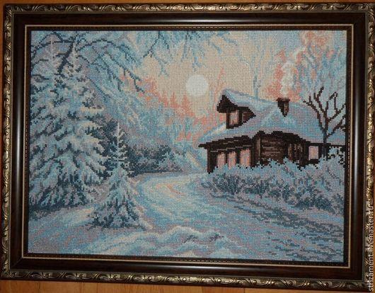 Картина `Мороз` в раме