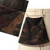 Одежда ручной работы. Ярмарка Мастеров - ручная работа юбка милитари. Handmade.