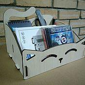 Канцелярские товары handmade. Livemaster - original item Desktop organizer - ivory. Handmade.