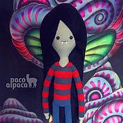 Куклы и игрушки ручной работы. Ярмарка Мастеров - ручная работа Мягкая игрушка Марселин (Marceline) Время приключений (Adventure Time). Handmade.