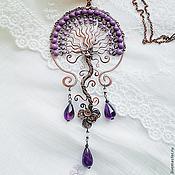 Украшения handmade. Livemaster - original item Copper pendant