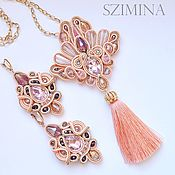 Украшения handmade. Livemaster - original item Soutache kit Flamingo. Handmade.