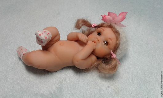 Коллекционные куклы ручной работы. Ярмарка Мастеров - ручная работа. Купить ........Юлианка....... Handmade. Бежевый, куклы и игрушки, девочка