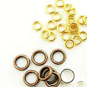 Материалы для творчества handmade. Livemaster - original item 10 PCs. Rings connecting all-in-one gold, copper(art. 1420). Handmade.