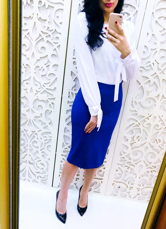 White Chiffon blouse, Blouses, Moscow, Фото №1