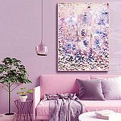 Картины и панно handmade. Livemaster - original item Decorative painting in marine style interior Pearl city. Handmade.