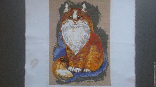 Животные ручной работы. Ярмарка Мастеров - ручная работа. Купить рыжий кот. Handmade. Рыжий, кот, подарок подруге
