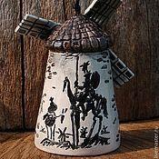 "Сувениры и подарки handmade. Livemaster - original item Колокольчик ""Старая мельница"". Handmade."
