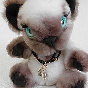 Куклы и игрушки ручной работы. Ярмарка Мастеров - ручная работа Тедди кот Сиамчик. Handmade.
