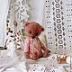 Мишки Тедди ручной работы. Ярмарка Мастеров - ручная работа. Купить Мой Птенчик. Handmade. Розовый, Маленький мишка, антик