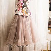 Одежда ручной работы. Ярмарка Мастеров - ручная работа Комплект юбка из фатина и корсет. Handmade.