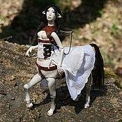 Куклы и игрушки ручной работы. Ярмарка Мастеров - ручная работа Фарфоровая шарнирная кукла Кира. Handmade.