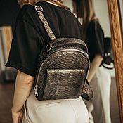 Сумки и аксессуары handmade. Livemaster - original item Backpack from Python. Handmade.