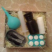 """Косметика ручной работы. Ярмарка Мастеров - ручная работа Набор мыла """" Подарок доктору"""". Handmade."""