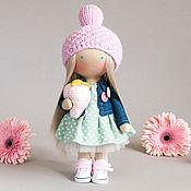 Куклы и игрушки ручной работы. Ярмарка Мастеров - ручная работа Кукла Фиби с клубничкой. Handmade.