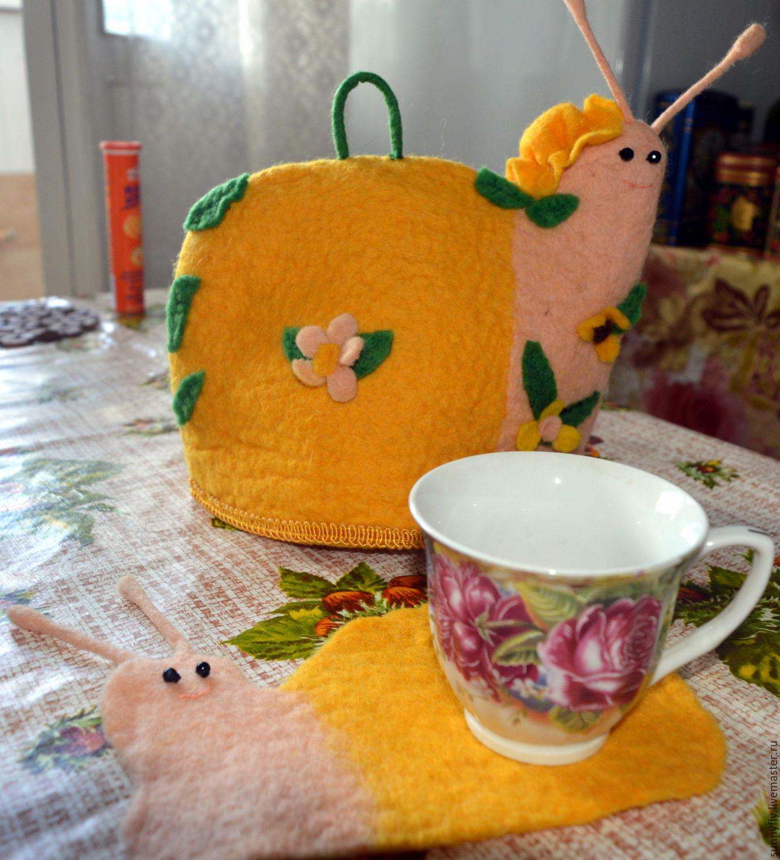 Грелка на чайник улитка своими руками 96
