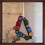 """Украшения ручной работы. Ярмарка Мастеров - ручная работа Кулон """"Игра цвета"""". Handmade."""
