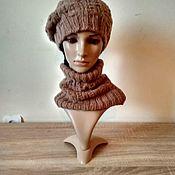 Аксессуары ручной работы. Ярмарка Мастеров - ручная работа Комплект из альпаки. Handmade.