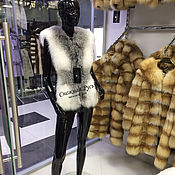 Одежда handmade. Livemaster - original item Vest of Fox fur. Handmade.
