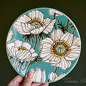 Посуда handmade. Livemaster - original item Decorative plate