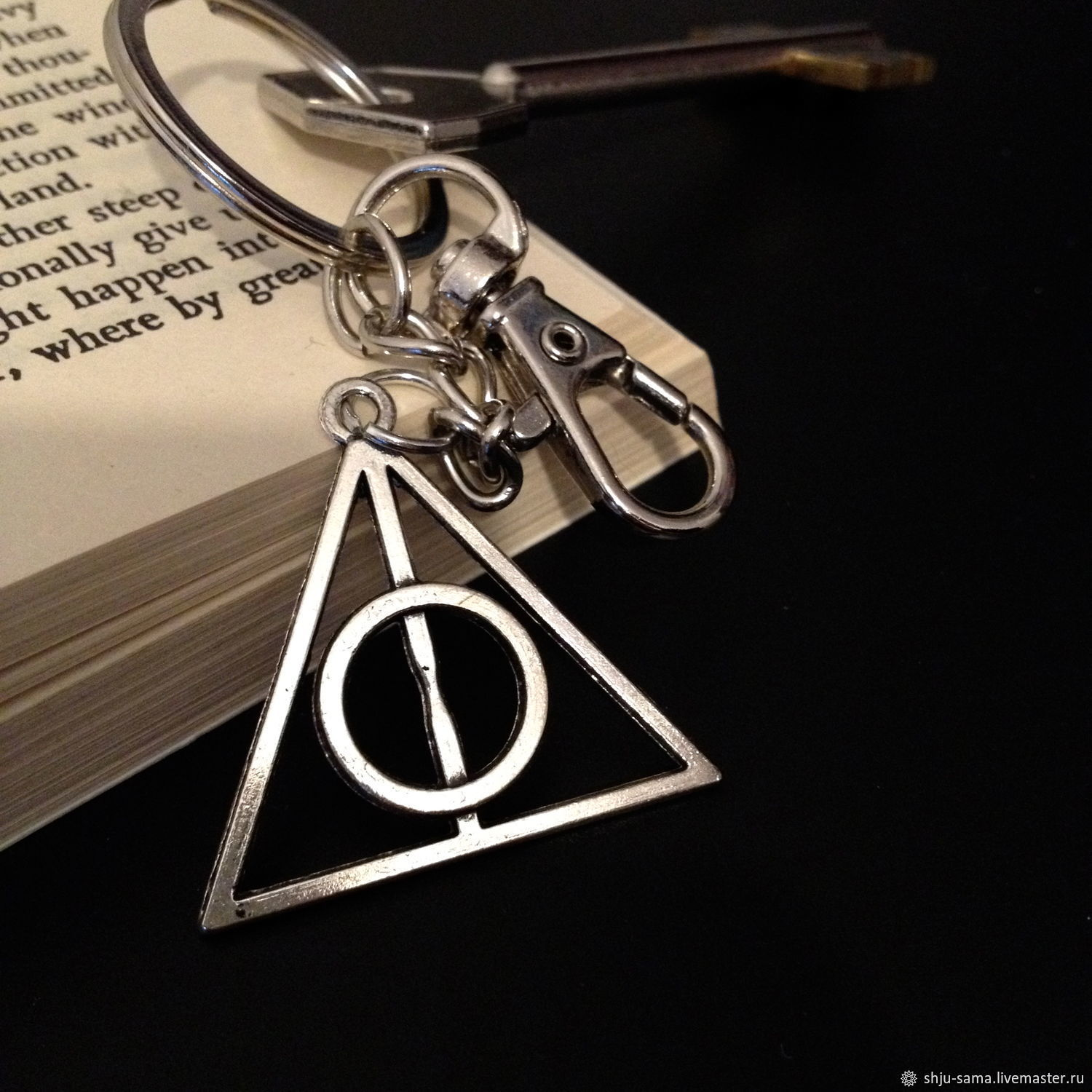 Key chain Harry Potter  Artifact keychain for handbag – shop online on  Livemaster with shipping - DURHBCOM   Moscow