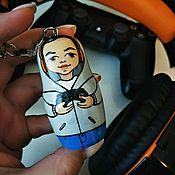 Сумки и аксессуары handmade. Livemaster - original item Personalized key chains. Handmade.