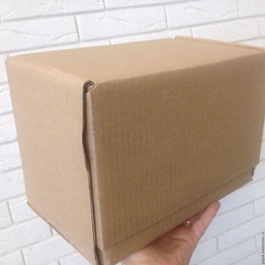 Упаковка ручной работы. Ярмарка Мастеров - ручная работа. Купить Коробка 26,5x16,5x19 см, почтовая Г3, гофрокартон, ГОСТ. Handmade.