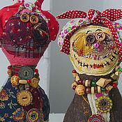 Куклы и игрушки ручной работы. Ярмарка Мастеров - ручная работа Кулёмы Батьковны Матрёшкины текстильная кукла. Handmade.