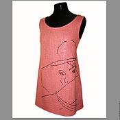 """Одежда ручной работы. Ярмарка Мастеров - ручная работа Туника с вышивкой """"Летний вечер"""". Handmade."""