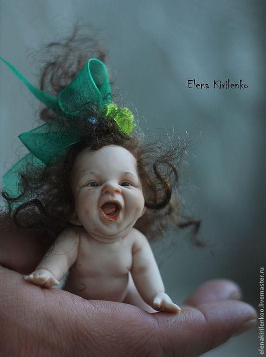 Коллекционные куклы ручной работы. Ярмарка Мастеров - ручная работа. Купить Дульсинея. Handmade. Зеленый