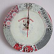 Watch handmade. Livemaster - original item A wall clock CUISINE MAISON. KITCHEN JACQUELINE.. Handmade.