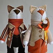 Куклы и игрушки ручной работы. Ярмарка Мастеров - ручная работа Пара котиков №3. Handmade.