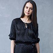 Одежда ручной работы. Ярмарка Мастеров - ручная работа Миледи (блузка). Handmade.