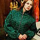 """Верхняя одежда ручной работы. Ярмарка Мастеров - ручная работа. Купить Куртка """"Секрет"""". Handmade. Куртка женская, куртка на молнии"""