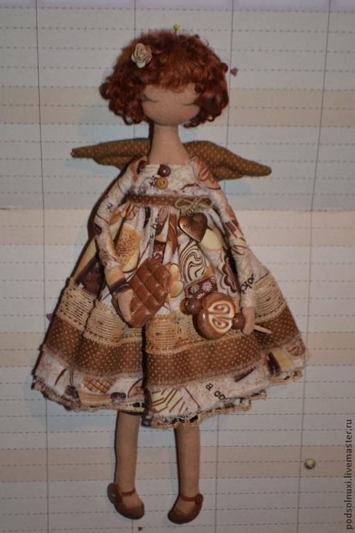Коллекционные куклы ручной работы. Ярмарка Мастеров - ручная работа. Купить ИрисКа. Handmade. Бежевый, интерьерная игрушка, для интерьера, шерсть